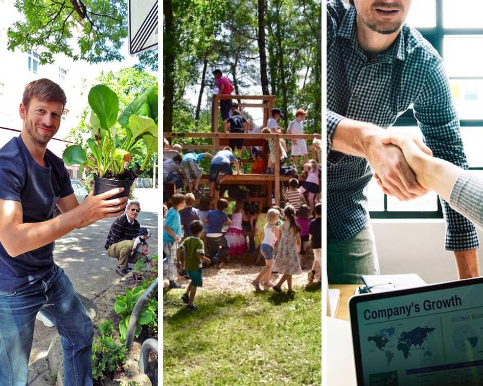 Corporate Volunteering und CSR Events