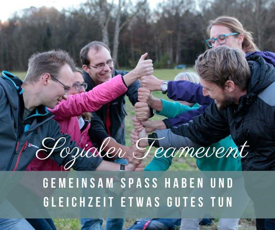 Corporate Volunteering München mit TEO