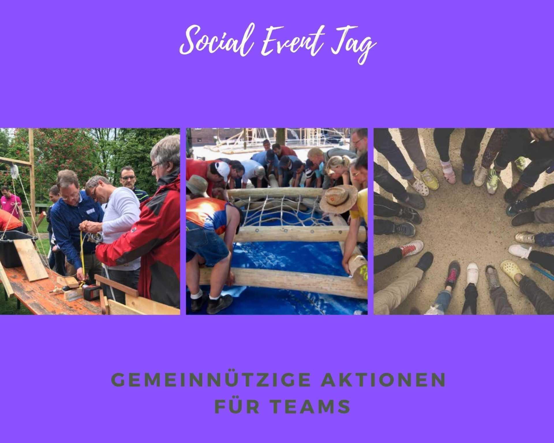 Sozialer Event Tag
