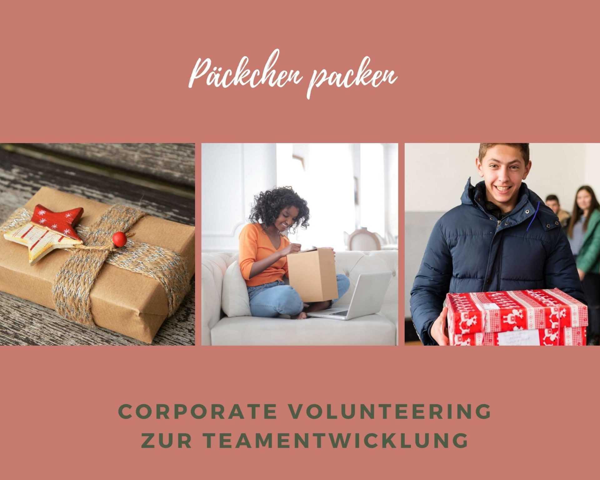 Sozialer Teamevent – Päckchenpacker Weihnachtsfeier