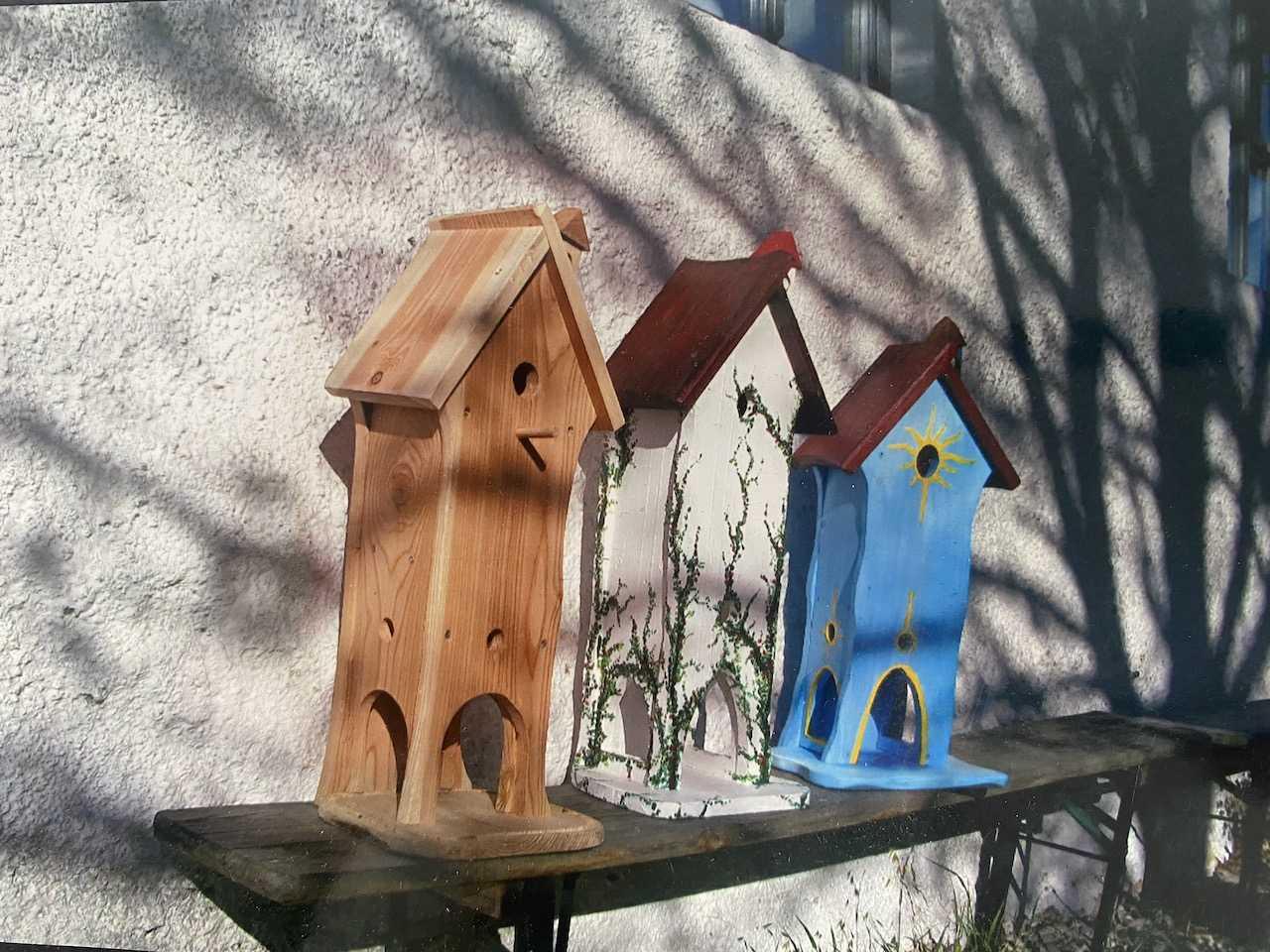 Vogelhäuser bauen als Teamevent