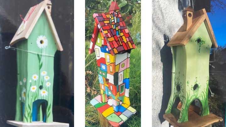 Vogelhäuser und Insektenhotels bauen als Teamevent
