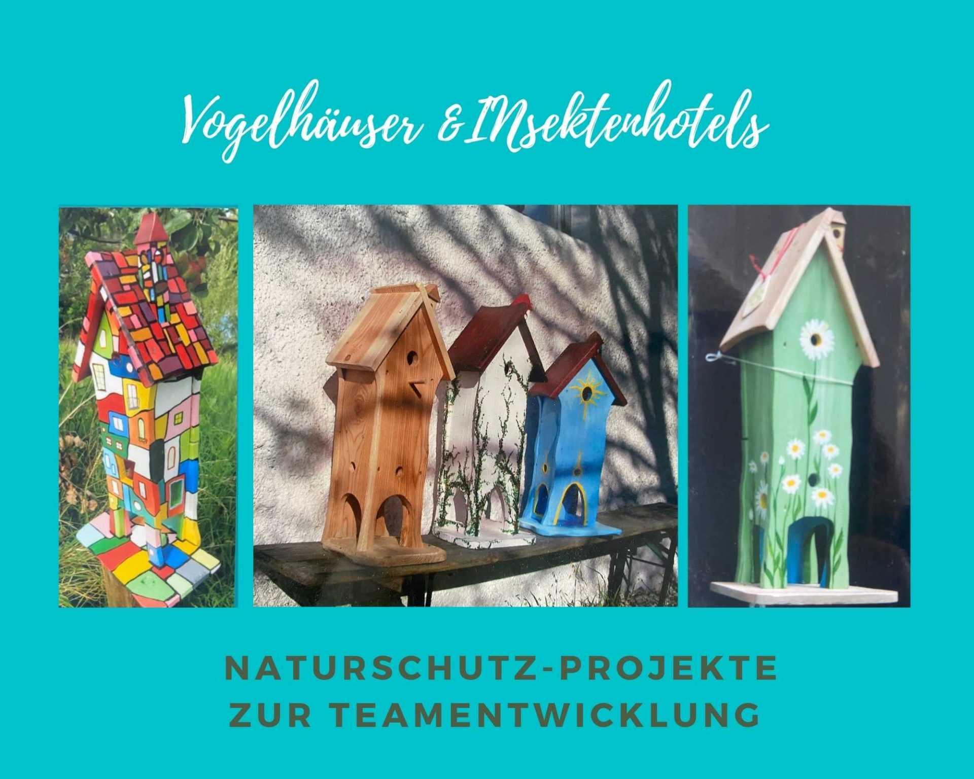 Green Event: Teamevent Vogelhäuser & Insektenhotels bauen