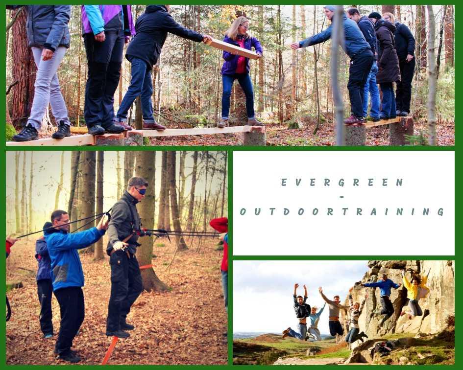 Evergreen Outdoor Teamentwicklung