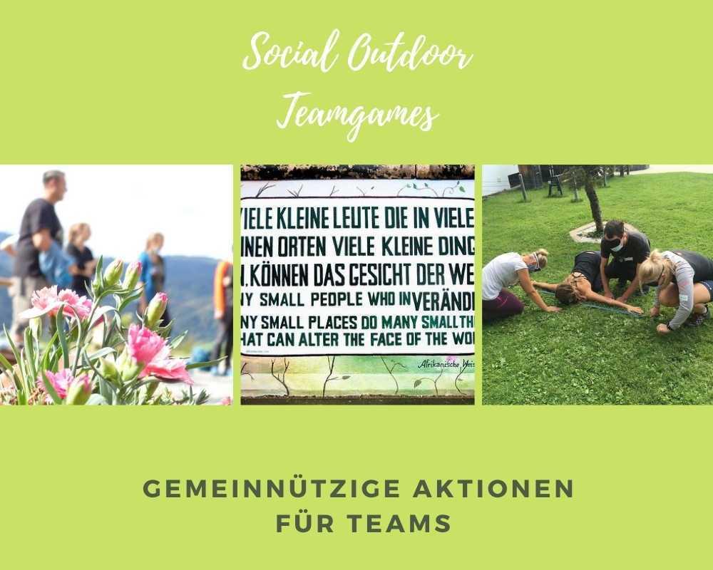 Outdoor Social Team Games