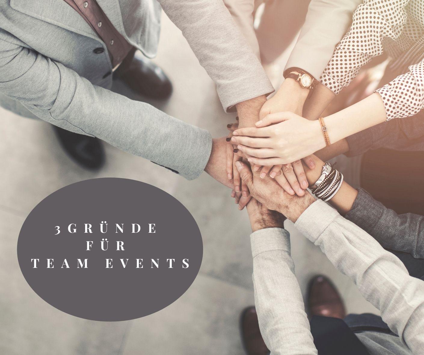 3 Gründe warum Team Events nachhaltige Mitarbeitermotivation fördern